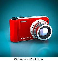 macchina fotografica, digitale