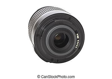 macchina fotografica, dslr, lente