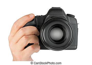 macchina fotografica foto, mano