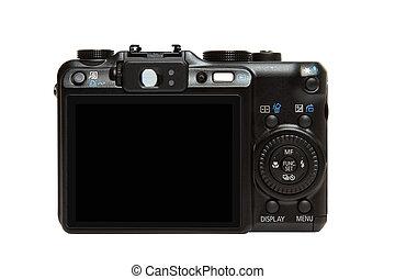 macchina fotografica indietro, digitale