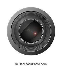 macchina fotografica, lense