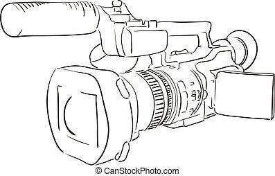 macchina fotografica, profili