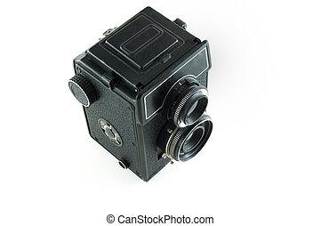 macchina fotografica, retro