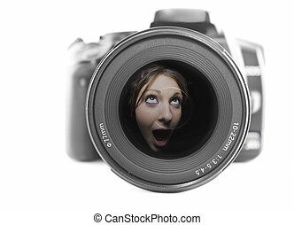 macchina fotografica, rumore