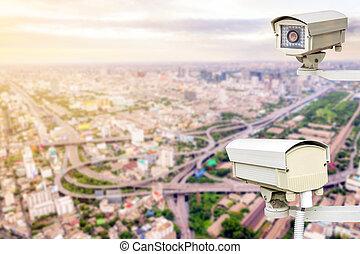 macchina fotografica sicurezza, sorveglianza