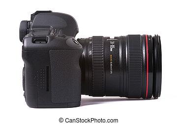 macchina fotografica, slr, digitale