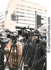 macchina fotografica tv
