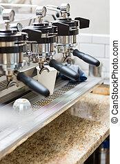 macchina, professionale,  Espresso