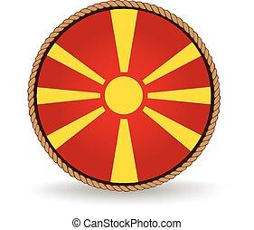 Macedonia Seal - Flag seal of Macedonia.