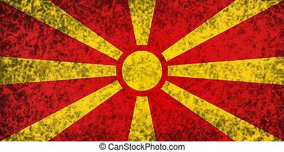 macedonia., vlag