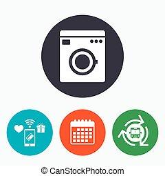 lavage symbole machine appareils maison icon 11 buttons lavage symbole machine. Black Bedroom Furniture Sets. Home Design Ideas