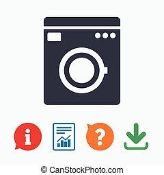 lavage symbole machine appareils maison icon 11 clipart vectoris recherchez. Black Bedroom Furniture Sets. Home Design Ideas