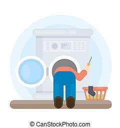 illustrations et clip art de machine r parateur lavage 83 graphiques clip art vecteur et. Black Bedroom Furniture Sets. Home Design Ideas