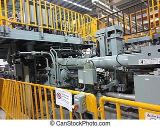 machine, aluminium, extrusion
