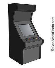 machine, arcade