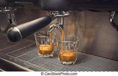 machine, café