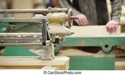 machine, charpentier