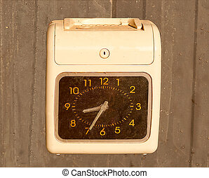 machine, clocking
