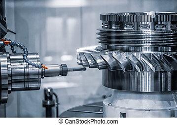 machine., cnc, metalworking, うろつく