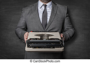 machine, comptabilité, typewriting, professionnel
