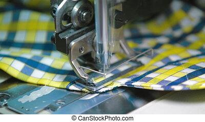 machine, couture, partie, fonctionnement