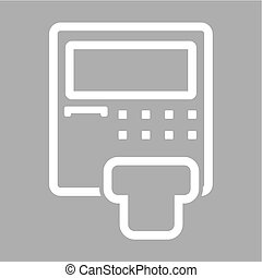 machine, distributeur billets banque