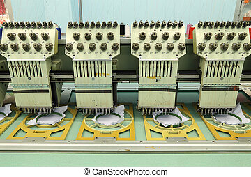 Machine embroidery is an embroidery process whereby a sewing machine
