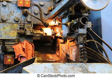 machine for cutting metal bars