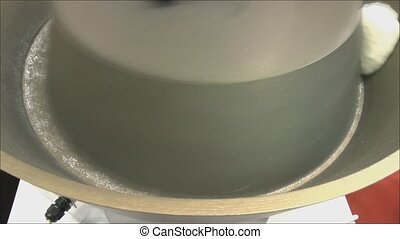 Machine for dough preparation