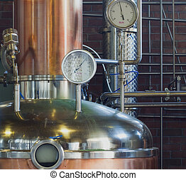 Machine for grappa - A machine for production of grappa, ...
