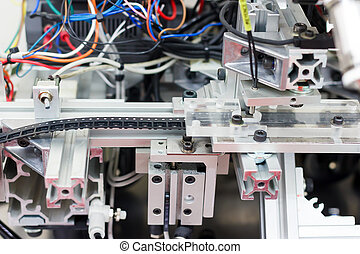 machine for manufacturing
