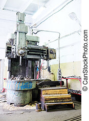 Machine for metal