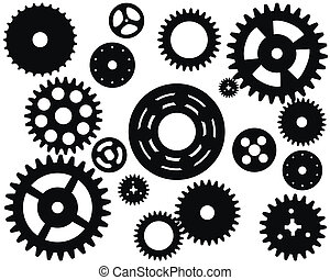 Machine Gear Wheel Cogwheel Vector