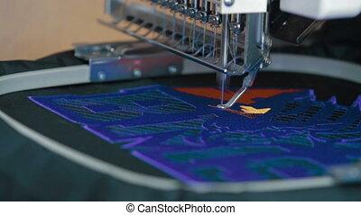 machine, geautomatiseerd, industriebedrijven, borduurwerk,...