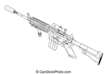 picture about Polish Ak 47 Receiver Template Printable titled Ak47 3d Blueprint
