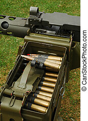 machine gun ammo