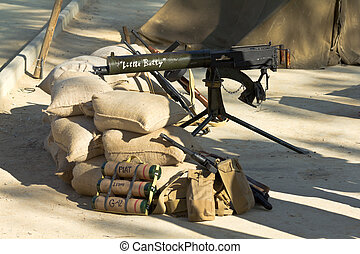 Machine Gun and other weapons