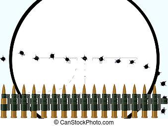 Machine-gun belt
