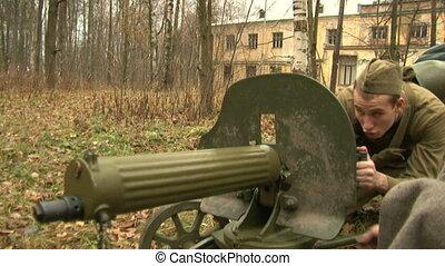 Machine-Gun Maksim