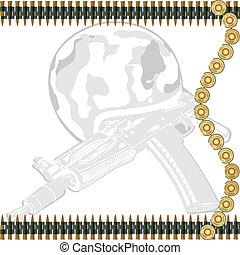 Machine-gun tape