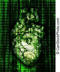 Machine Heart with binary