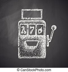 machine, icône