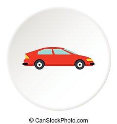 Machine icon, flat style