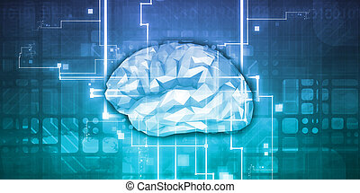 Machine Learning AI Artificial Intelligence Abstract Concept