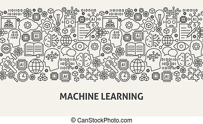 Machine Learning Banner Concept