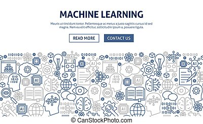 Machine Learning Banner Design