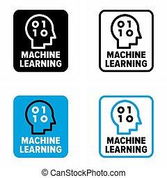"""Machine learning"" data analysis method, scientific study, ..."