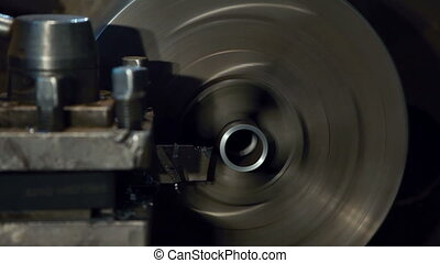 Machine milling metal tube