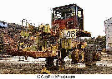 Machine mining truck industrial