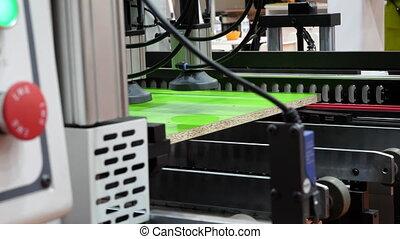 machine., montage, equipment., production, automatisé, ...